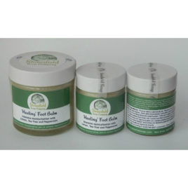 'Heeling' foot balm – lemon mint – 25g